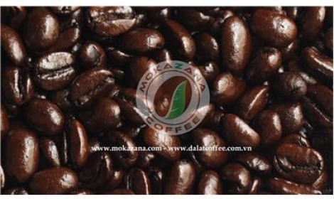 Arabica dark roasted bean