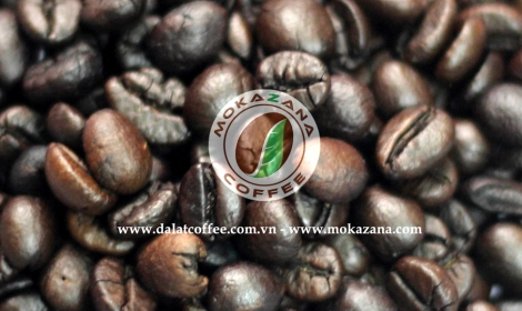 Dark roasted Robusta bean