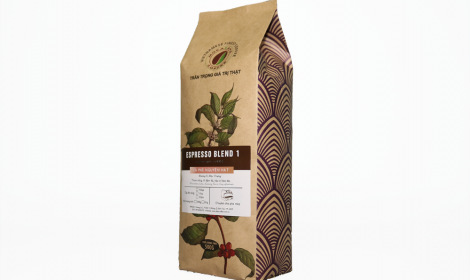 Cà phê hạt Espresso Blend 1